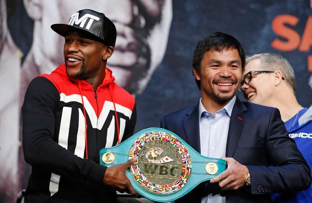 Fight of Century propels Floyd Mayweather, Manny Pacquiao to top of Forbes list of highest paid celebrities