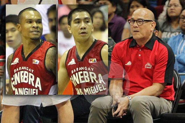 Will Forrester and Tenorio be finally shipped out with Frankie Lim in charge of Ginebra?