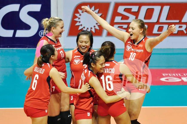 Foton edges Mane 'N Tail in five sets to salvage fifth place in Super Liga
