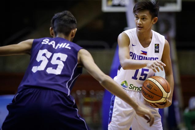 Batang Gilas ace Fran Yu set to join new recruits Muyang, Batiller, Fajarito at Letran