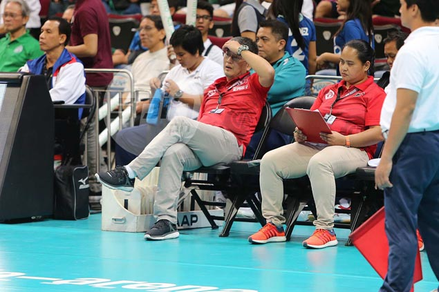 Francis Vicente preaches patience as UE Lady Warriors losing streak runs to 57 matches