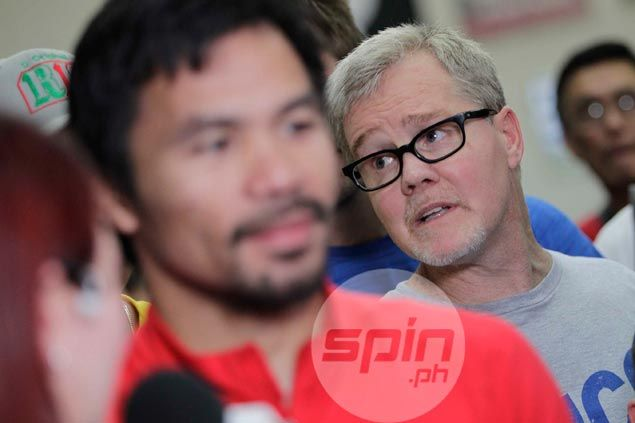 Pacquiao makes a U-turn, insists no decision yet on Roach's fate for Matthysse fight