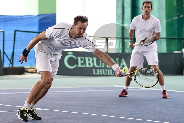 Second seeds Brunstrom, Nielsen face wild cards Francis Alcantara, Christopher Rungat in Philippine Open doubles final