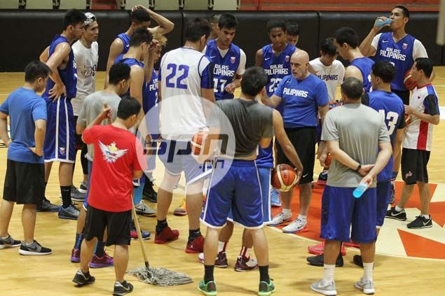 Tab Baldwin hoping to make the most of once-a-week training schedule for Gilas
