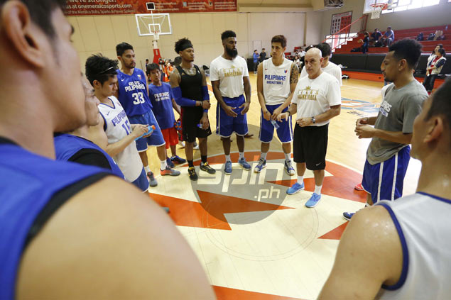 Gilas to embark on training trip to Greece, Italy, Turkey; play pocket tournament in Italy