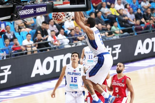 WATCH Gabe Norwood dunk off Andray Blatche assist makes it to the top five plays of Fiba Asiaquarterfinals