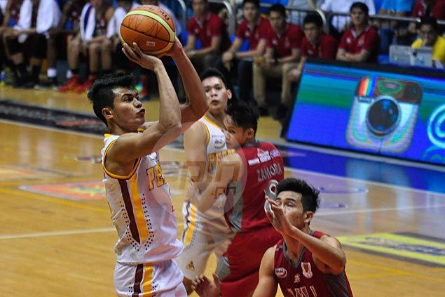 Gabriel Dagangon steps up to help carry Perpetual Help past Lyceum and into share of third spot