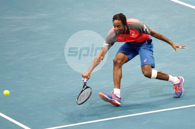 Gael Monfils comes up with the big points to help Indian Aces stop UAE Royals in IPTL