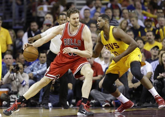 Pau Gasol eager to play for Bulls in Game Six against Cavs after missing two games