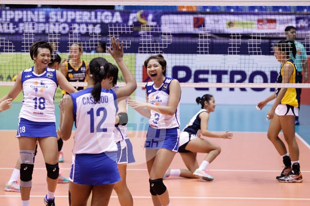 Casugod, Cortez, Adorador shine as Generika scores four-set win over Navy in PSL All Filipino