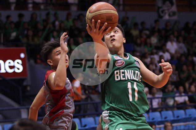 Gerard Castor shines as St. Benilde Blazers defeat Lyceum Pirates in battle of NCAA also-rans