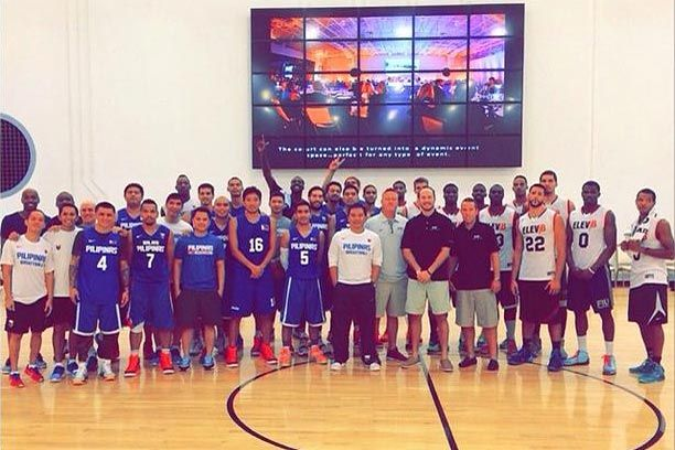 Another morale-boosting win as Gilas Pilipinas downs Elev8 squad featuring NBA D-League and NCAA players