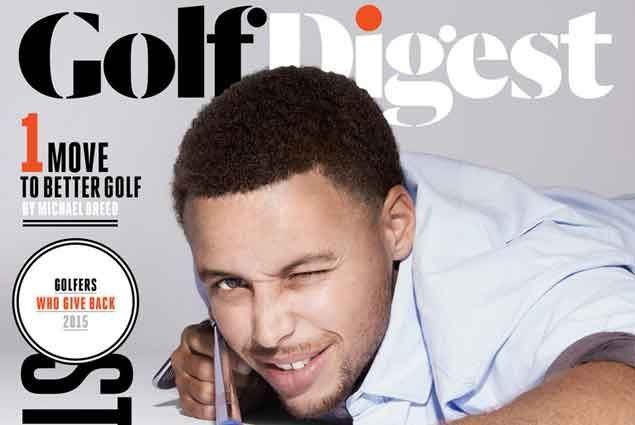 Stephen Curry graces cover of Golf Digest issue on 'Golfers who give back'