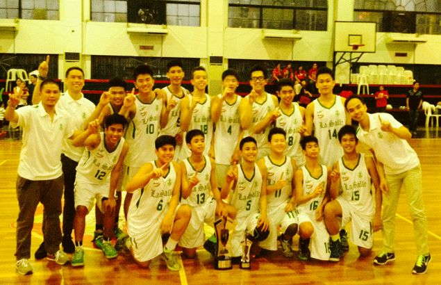 La Salle Greenhils crowned first ever NCAA under-14 basketball champion