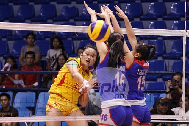 Emilio Aguinaldo, San Sebastian remain perfect to surge on top of NCAA volleyball tournament