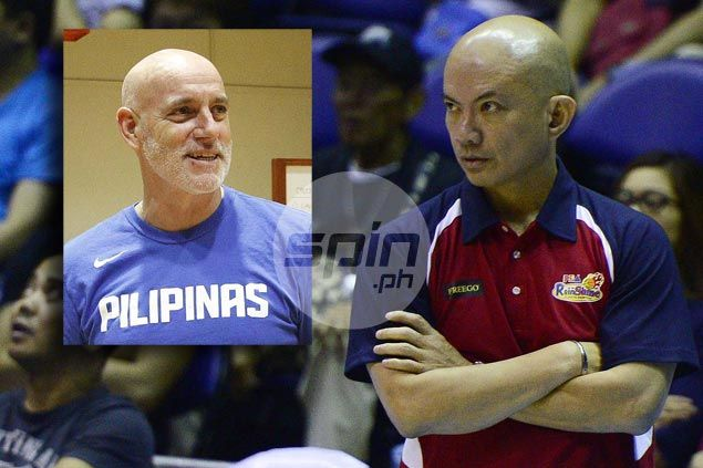 Ateneo appointment of Tab Baldwin as coach facing legal obstacle, warns Yeng Guiao