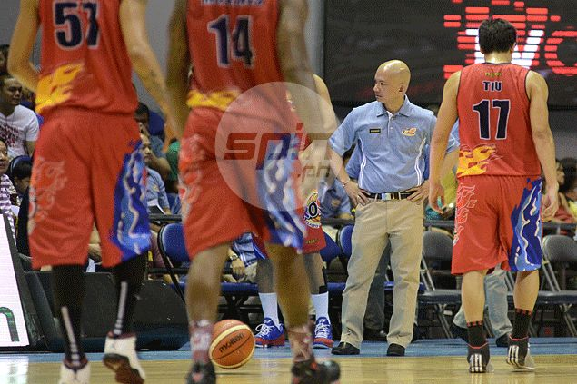 Yeng Guiao says local players the problem as he dispells talk McKines is on way out