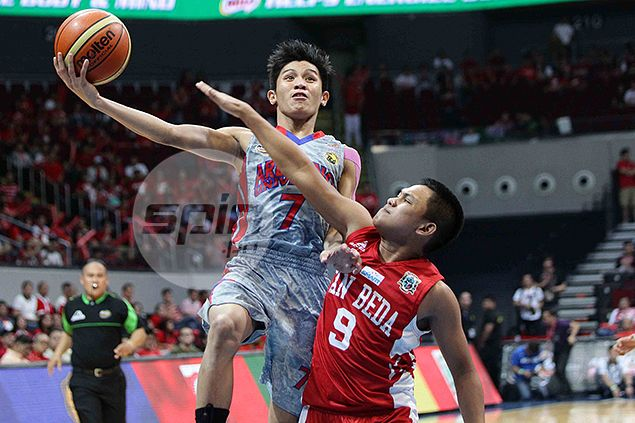 Arellano Braves end San Beda Red Cubs win run at 19, stay alive in NCAA junior finals
