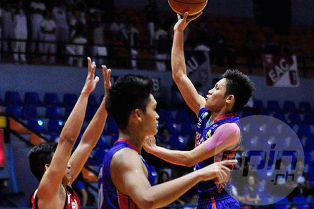 Guilmer Dela Torre stars anew as Arellano beats Mapua to keep unblemished slate in NCAA Juniors