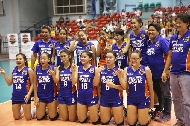 St. John's Institute of Western Visayas stuns NCR squad National University in five to rule GVL League of Champions