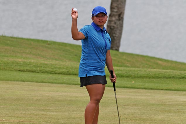 Teen golfer Harmie Constantino rolls to eight-stroke victory in Malarayat leg of Ladies Philippine Golf Tour
