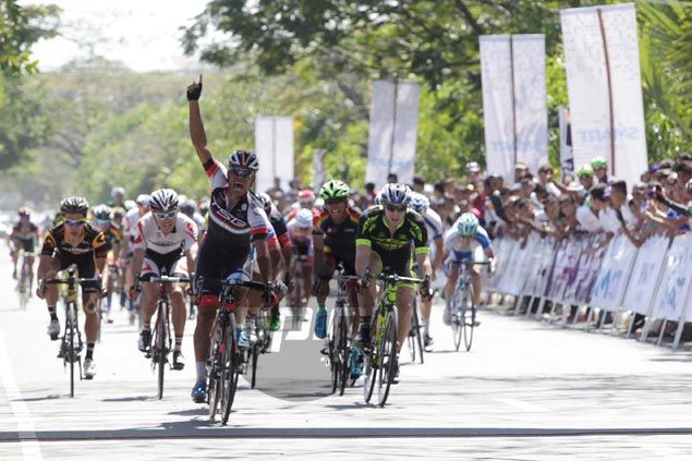 Salleh takes lap honors, Sheppard still in yellow as bunched finish sets stage for thrilling finale