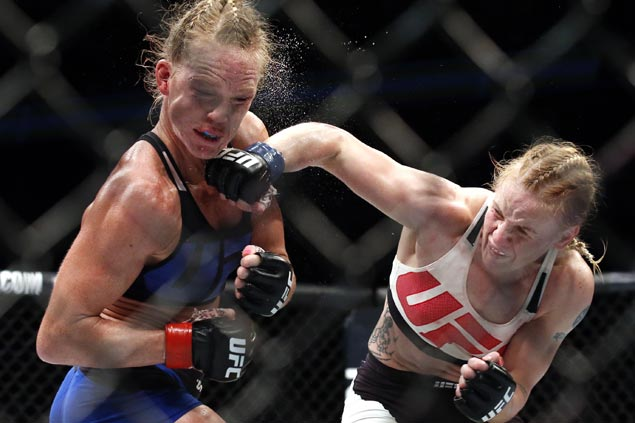 Valentina Shevchenko puts name in the mix for UFC title after dealing Holly Holm second straight defeat