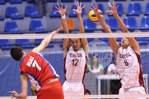 Howard Mojica leads way as EAC Generals down Arellano Chiefs to close in on NCAA volleyball finals berth