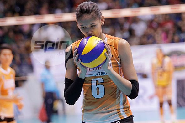 Flu no excuse for Jaja Santiago, says she could've done better in NU match vs Ateneo