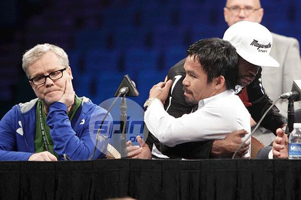Pacquiao, CBS sued by waiter for unpaid 'finder's fee' in setting up Mayweather megabout