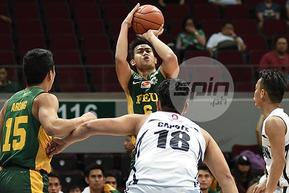 Raymar Jose forced to sit out FEU-NU game after suffering freak injury during warm-ups