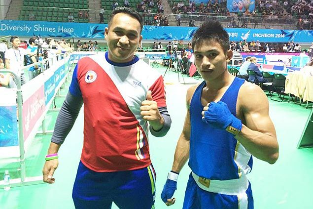Wilfredo Lopez, Ian Clark Bautista win opening round bouts in Asian Games boxing