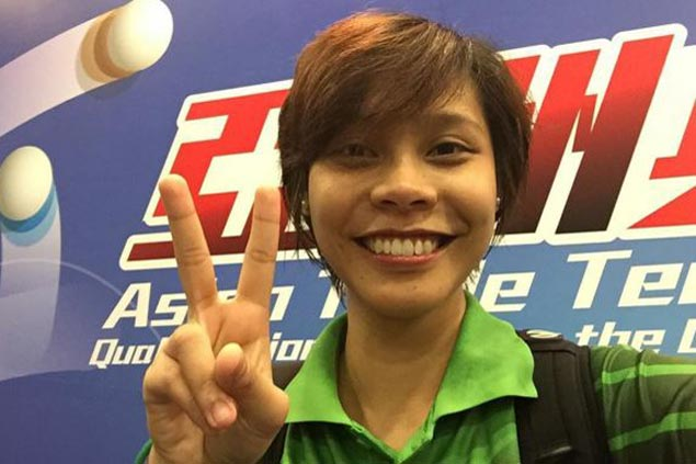 Another Filipina qualifies for Rio Olympics as Ian Lariba books ticket through Asian table tennis qualifying in HK