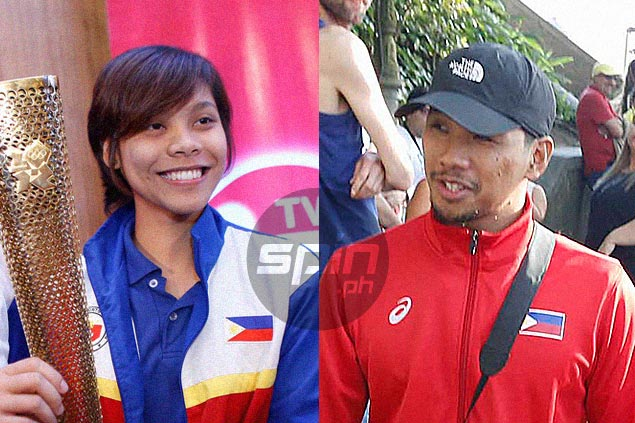 Co-athletes of the year Jessie Khing Lacuna, Ian Lariba glad to represent UAAP in Rio Olympics