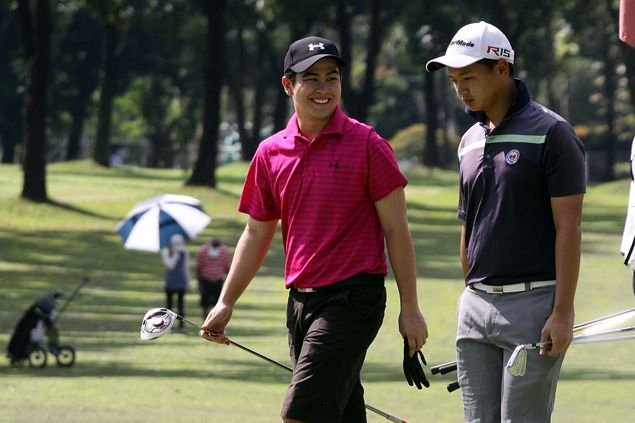 Raymundo, Carlos survive tough round to take share of lead with Chan-Alido in National Doubles Amateur
