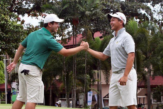 Jobim Carlos, Inigo Raymundo rule National Doubles Amateur Golf Championship