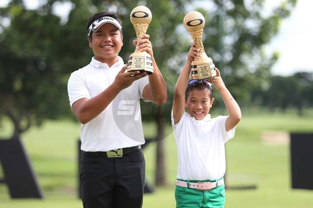 Ira Alido, Gabie Rosca rule Oakley Golf Cup at Sherwood Hills