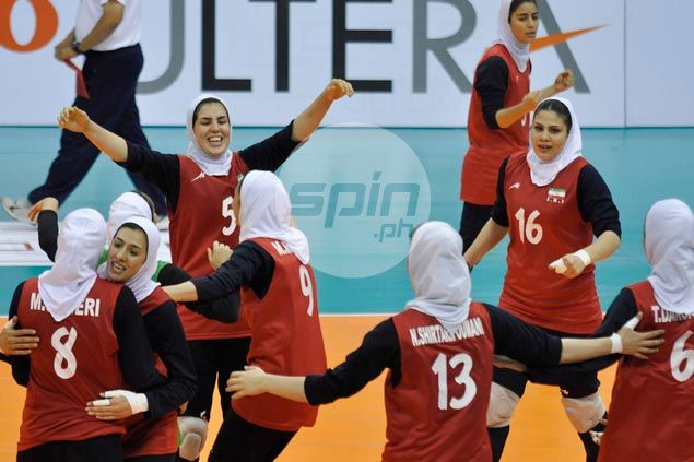 Iran edges Kazakhstan in five to take top spot, relegates Philippines to second in Pool A