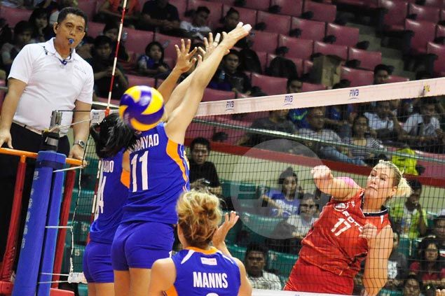 Foton downs Mane 'N Tail in straight sets for first win after five losses in Super Liga