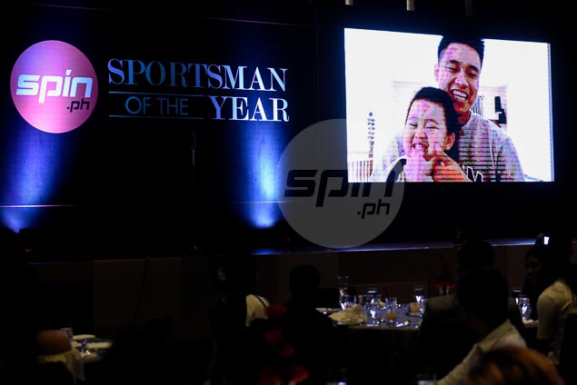 JR Gallarza given Spin.ph award for Sportsmen Who Excel Academically