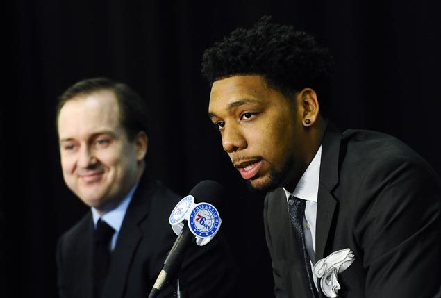 Video shows 'heckled' Sixers rookie Jahlil Okafor in street fight after Boston loss