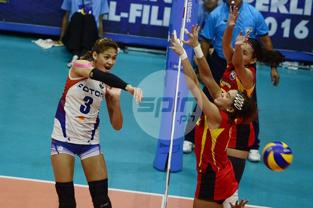 Foton fights back from a set down to deal F2 first loss in Super Liga All Filipino