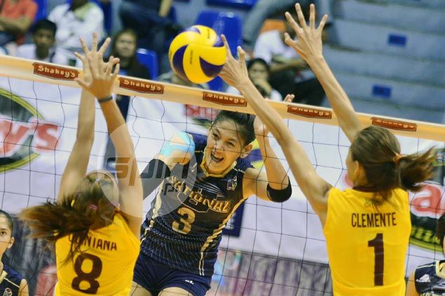 NU Lady Bulldogs make quick work of winless PUP to gain V-League quarterfinals