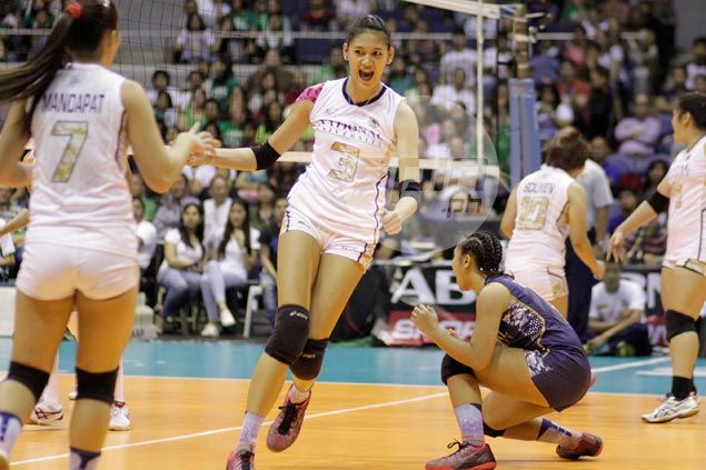 NU Lady Bulldogs score shock straight-sets win to force rubber match against DLSU Lady Spikers