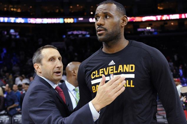 LeBron James cries foul over 'coach-killer' comments after David Blatt firing