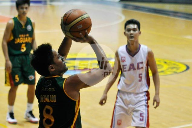Villafranca, Regalado provide spark as USJ-R cruises past EAC for first win in Filoil Cup