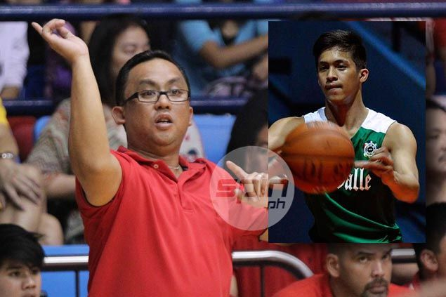 Coach Jamike Jarin says Bedans wish only the best for La Salle recruit Andrei Caracut