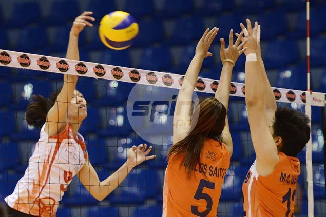 Marciano shows way as Valdez-less Ultra Fast Hitters score straight-sets win over Lady Dolphins