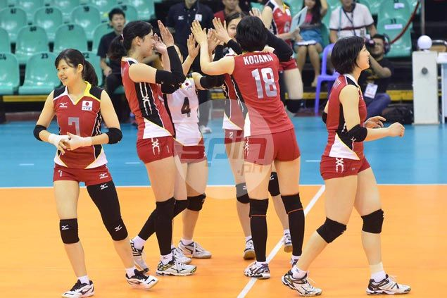 Japan starts Asian Under-23 women's volley campaign with rout of Maldives