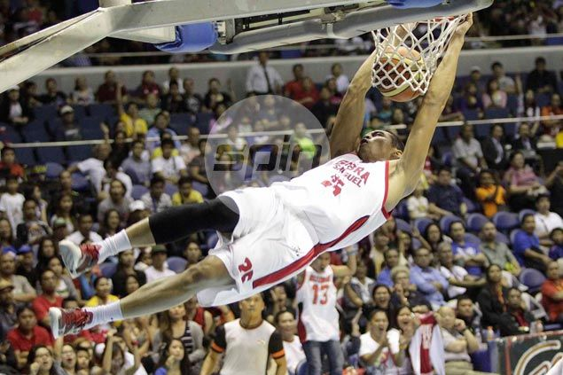 'Heavier' Japeth Aguilar to put more weight on style than elevation in Slam Dunk contest